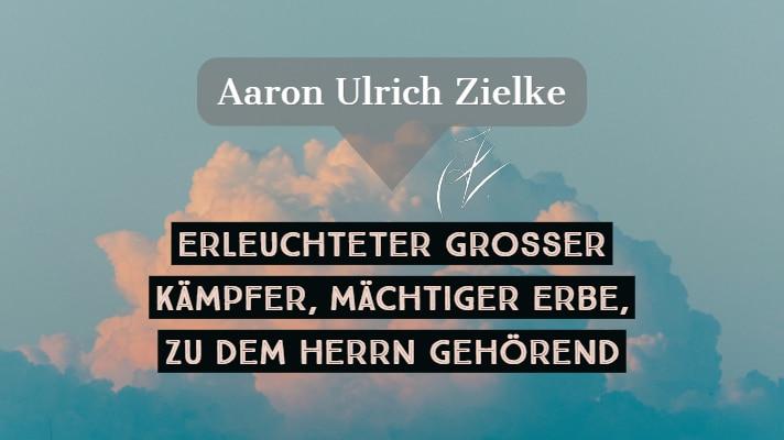 Aaron Der Kämpfer